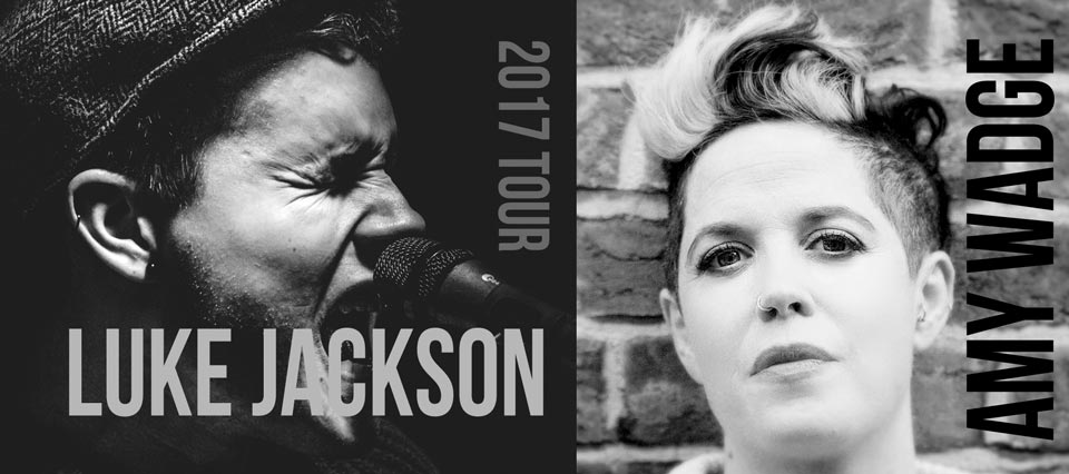 Luke Jackson and Amy Wadge 2017 Tour